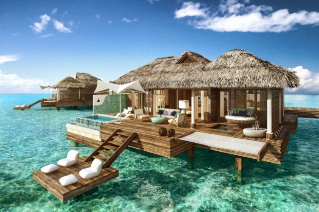 Sandals-Royal-Caribbean_Overwater-Bungalow_Daytime-View